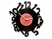 купить Виниловые часы Crazy numbers цена, отзывы