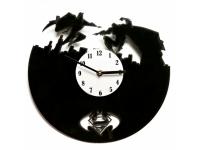 купить Виниловые часы Бэтмен против Супермена цена, отзывы