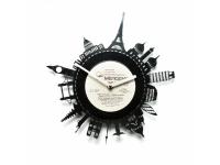 купить Виниловые часы Attractions of the world цена, отзывы