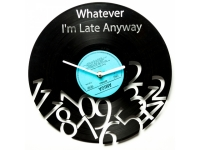 купить Виниловые часы I аm late anyway  цена, отзывы