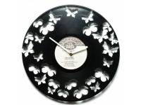 купить Виниловые часы Butterflies цена, отзывы