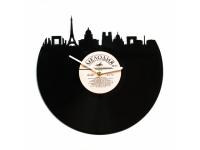 купить Виниловые часы Ночной город цена, отзывы