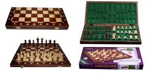 купить Шахматы AMBASADOR brown цена, отзывы