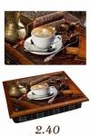 купить Поднос с подушкой Стол с кофе цена, отзывы