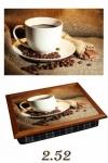купить Поднос с подушкой Кофе с шоколадом  цена, отзывы