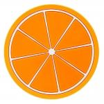 купить Подставка под чашки Апельсин цена, отзывы