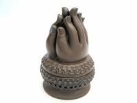 купить Курительница благовонная Руки керамика цена, отзывы