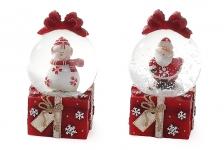 купить Водяной шар Дед Мороз Снеговик цена, отзывы