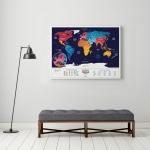 купить Скретч карта мира Travel Maps Holiday World цена, отзывы