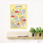 купить Скретч постер 100 СПРАВ JUNIOR edition цена, отзывы