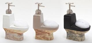 купить Дозатор для жидкого мыла с губкой 19см цена, отзывы