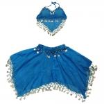 купить Карнавальный костюм Восточный синий цена, отзывы