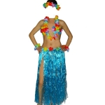 купить Карнавальный костюм Гавайский с длинной юбкой цена, отзывы