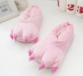 купить Домашние тапочки кигуруми Лапы Розовый цена, отзывы