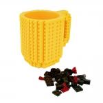 купить Кружка Lego брендовая 350мл Yellow цена, отзывы