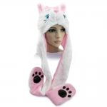 купить Шапка маска с лапками Кошка цена, отзывы