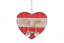 купить Новогодние украшения Сердце цена, отзывы
