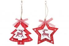 купить Новогодние украшения Елочка/Звезда цена, отзывы