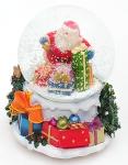купить  Водяной шар Санта с подарками  цена, отзывы