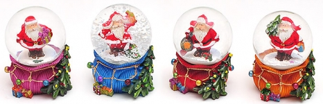 купить Водяной шар Санта в ассортименте  цена, отзывы