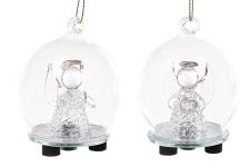 купить Елочный шар ангел LED  цена, отзывы