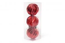 купить Набор елочных шаров красный цена, отзывы