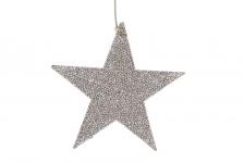 купить Елочное украшение Звезда цена, отзывы
