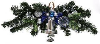 купить Новогодний венок Маркиан с колокольчиком цена, отзывы
