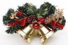 купить Новогодний венок Феодосий с колокольчиками 25.5 см цена, отзывы