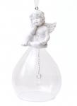 купить Елочное украшение 12.5см колокольчик Ангел цена, отзывы