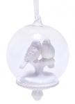 купить Елочный шар с птицей цена, отзывы