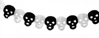 купить Гирлянда 3D Хэллоуин Череп цена, отзывы