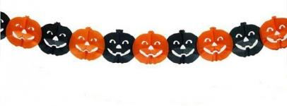 купить Гирлянда 3D Хэллоуин Тыква цена, отзывы