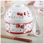 купить Детский набор посуды Hello Kitty цена, отзывы