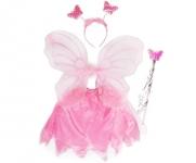 купить Маскарадный костюм Бабочка с юбкой цена, отзывы