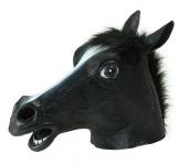 купить Маска голова лошади (коня) - черная цена, отзывы