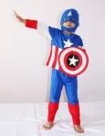 купить Маскарадный костюм Капитан Америка со щитом цена, отзывы