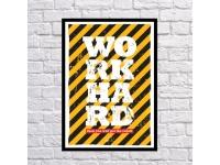 купить Постер Много работать цена, отзывы