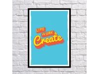 купить Постер Create цена, отзывы