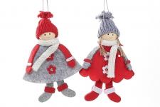 купить Новогоднии подвески Куколки 16см цена, отзывы