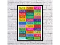 купить Постер Practice цена, отзывы
