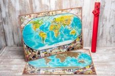купить Скретч карта My Maps Vintage edition в наборе для любимого человека In Love цена, отзывы