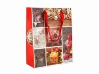 купить Подарочный пакет С Новым годом 23 см цена, отзывы