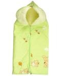 купить Конверт-трансформер для новорожденных Yuko lime цена, отзывы