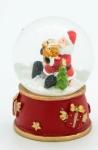 купить Водяной шар Дед Мороз с подарками цена, отзывы