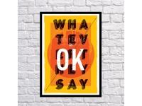 купить Постер Ok цена, отзывы
