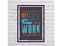 купить Постер Back to Work цена, отзывы
