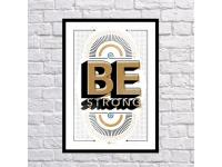 купить Постер Be Strong цена, отзывы