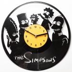купить Виниловые часы The Simpsons  цена, отзывы