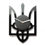 купить Виниловые часы Тризуб цена, отзывы